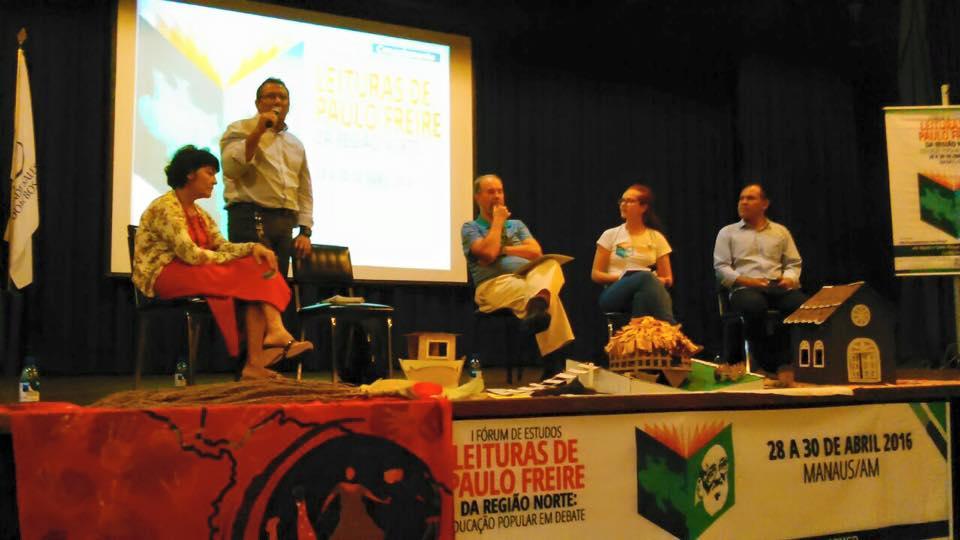 Manoel Cunha representou o CNS no Fórum