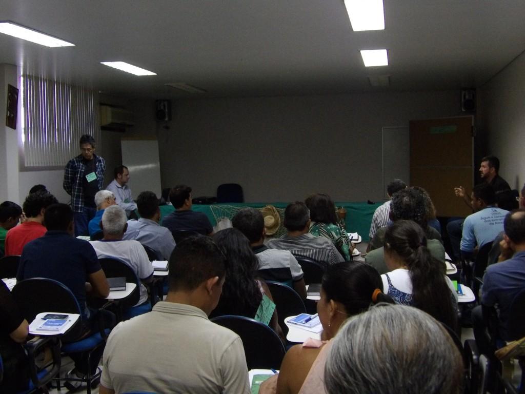 Apresentação do SOS Amazônia, executora do Sanear Amazônia